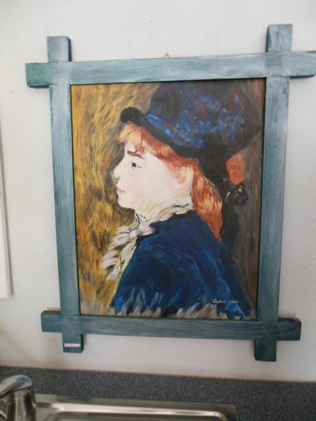 Oeuvre d'Auguste RENOIR, peinte et réalisée par Andrée LAMBERT dans DERNIERS PORTRAITS dscn01951